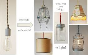 upcycled pendant lights