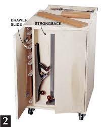 Workshop Cabinets Diy How To Make Rolling Garage Cabinets Diy Plans Free