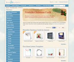 Where To Find Free Printable Christmas Card Templates Printer