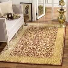 new zealand wool rug luxury safavieh handmade silk road maroon ivory new zealand wool rug 6
