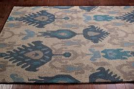ikat indoor outdoor rug designs