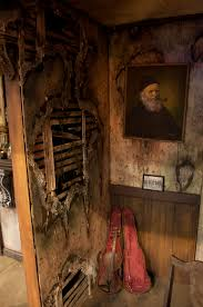 amazingly detailed haunted house wall for more detailing information visit hauntedhousestartup com