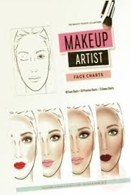 Makeup Artist Face Charts The Beauty Studio Collection Makeup Artist Face Charts The Beauty Studio Collection