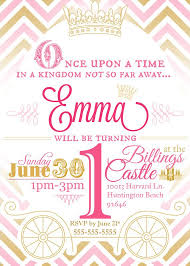Princess Party Invitations Princess Party Invitations With