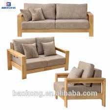 modern wooden sofa. Modren Modern Modern Rubber Wood Combination Sofa Set With Fabric Upholstery Seat In Wooden