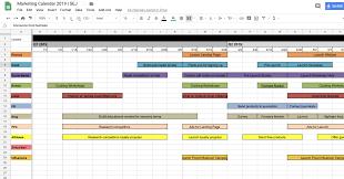 Marketing Calendar 2019 Sej Marketing Calendar Excel