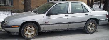 All Chevy chevy corsica : 1991 Chevrolet Corsica - Information and photos - ZombieDrive