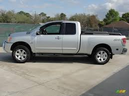 Radiant Silver 2004 Nissan Titan LE King Cab 4x4 Exterior Photo ...