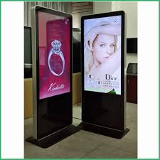 Free Standing Display Board 100inch free standing led advertising digital display board with 40