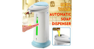 Soap Dispenser <b>Automatic</b> Lotion Dispenser <b>Infrared Sensor</b> ...