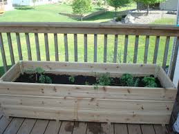 Kitchen Garden Planter Vegetable Garden On The Deck You Bet My Northern Garden