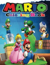 coloring book coloring book containing all super mario characters mario and friends coloring book magical creative 9781542898430 amazon books