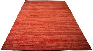 rugsville nomad gabbeh tribal texture red wool rug 13221 13221