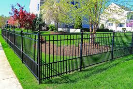 Black Metal Fence stock photo Image of strong home 53483640