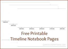 Blank Timeline Template Best Free Printable Blank Timeline Template For Kids Monster Images Of 44
