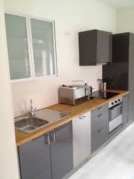 imposing best interior design with gray gloss varnished acrylic ikea kitchen cabinets added wooden countertop as decorate in modern galley kitchen designs