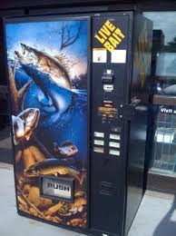 Used Live Bait Vending Machine For Sale Inspiration 48 Unique Vending Machines You Can Find Around The World