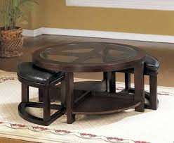 coffee table with storage ottomans underneath glass coffee table with ottomans underneath simpli home avalon coffee