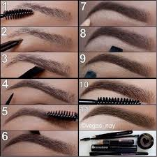 beauty eyebrows makeup in 11 easy steps perfect brows