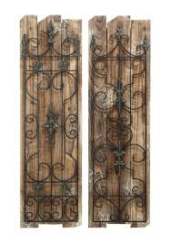 rustic metal wall decor at simple trendy large art contemporary decoration home design wood and craftsman photo of wall iron decorations