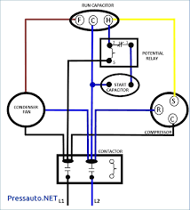 air compressor dual capacitor wiring wiring diagrams wd Compressor Relay Wiring Diagram at Psc Compressor Wiring Diagram