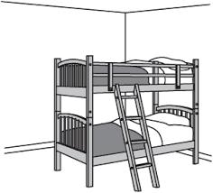 bunk bed clip art. Plain Bunk Bunk Throughout Bed Clip Art
