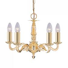 seville 5 light polished brass