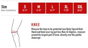 Mcdavid Knee Pads Size Chart Mcdavid 402 Reversible Open Knee Support Sports Depot