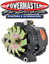powermaster 8072 gm cs121 100 amp racing alternator 12v 1 wire w o image is loading powermaster 8072 gm cs121 100 amp racing alternator