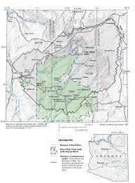 location of black mesa study area, northeastern arizona Map Northeastern Arizona Map Northeastern Arizona #31 map northeast arizona