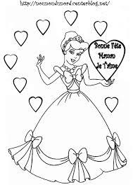 Coloriage A Dessiner De Princesse Cendrillon Gratuit Voir Le Dessin