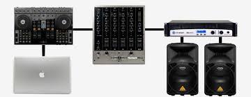 sound systems for djs dj techtools speaker diagram
