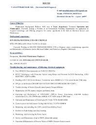 Generator Test Engineer Sample Resume - Free Letter Templates Online ...