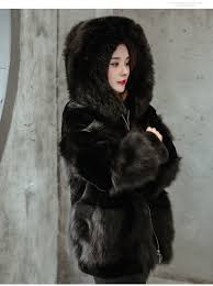 rex rabbit fox fur coat with hood with fox fur t 1611037 eileenhou 20