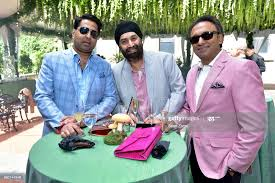 "Ro Aggarwal, Bobby Johar and Perry Tolani attend Jenny's ""Midsummer... News  Photo - Getty Images"