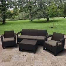 <b>Комплект мебели</b> с диваном <b>Afina garden</b> Yalta 3set AFM-1030A ...