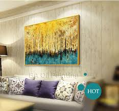 free large canvas art hand painted oil paintings on canvas painting wall picture home
