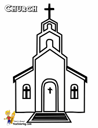Small Picture Church Coloring Pages Best Coloring Page