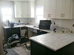 River White Granite Kitchen Danks And Honey Kitchen Renovation Solid Surface Countertops