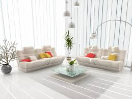 White Walls Living Room Decor Living Room With White Walls Design Idea For Elegant And Warm Interior