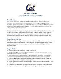 Athletic Resume Template Athletic Resume Template Athletic
