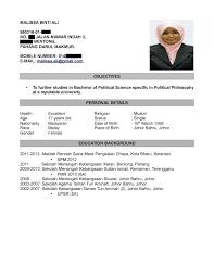 Format Resume Terkini 2016 Eliolera Com