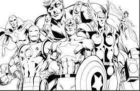 avengers coloring book pages to print captain page at free printable 160 of 17