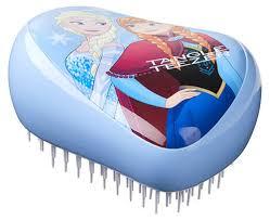 Tangle Teezer <b>Расческа Compact Styler Disney</b> Frozen, голубая ...