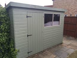 image of simple 6 foot garage door for shed