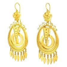 gold chandelier earring antique yellow gold chandelier earrings for at antique yellow gold chandelier earrings