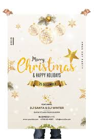 Christmas Holiday Free Psd Flyer Template Free Psd