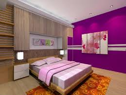 Small Purple Bedroom Epic Purple Bedroom Style With Small Home Interior Ideas With