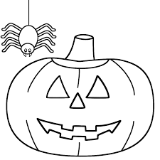 Small Picture Spider Coloring Pages Halloween Printable And Halloween Spider