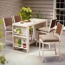 home patio bar. Home Depot 5 Piece Patio Bar Set